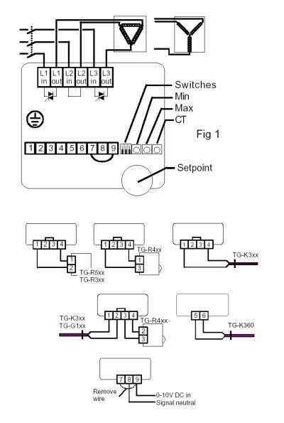 Схема подключения ТТС2000:
